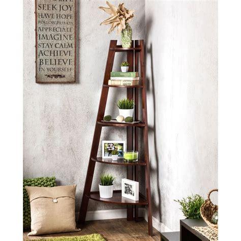 Corner Cabinet Bookshelf by 1000 Ideas About Corner Bookshelves On