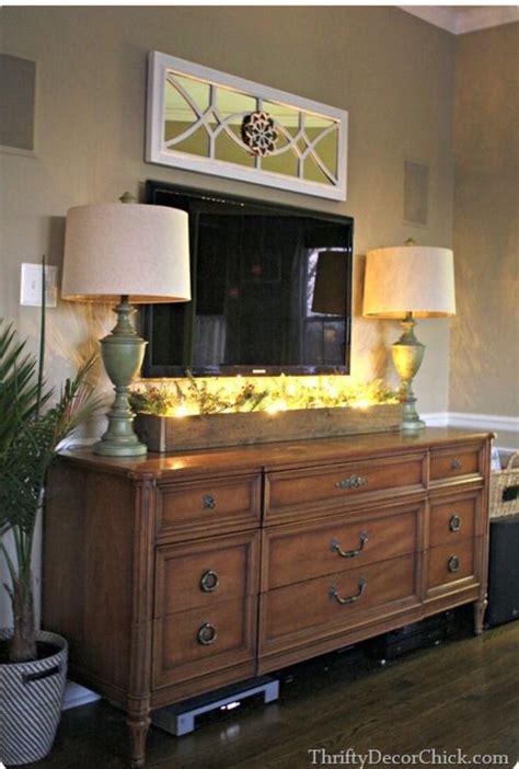 tv stand bedroom dresser styling