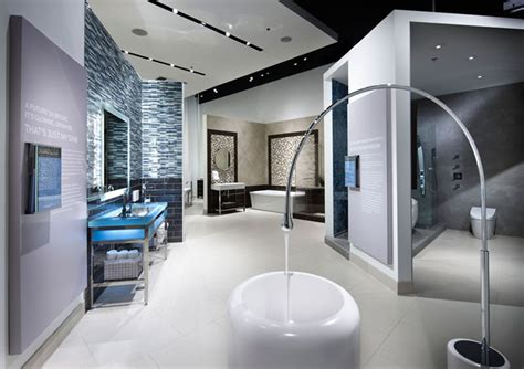 modern bathroom showroom fixtures living by fitch costa mesa 187 retail design blog
