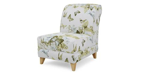 Lime Green Accent Chair Dfs Corinne Lime Green Fabric Patterned Accent Chair 182856 Ebay