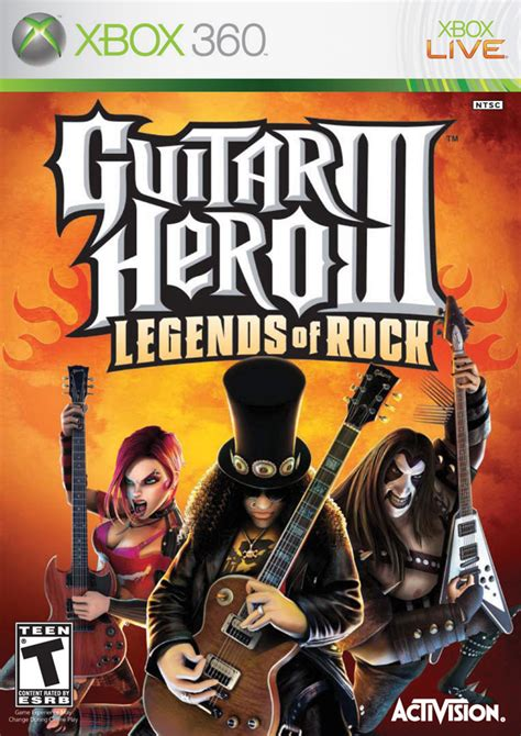 Tutorial Guitar Hero 3 Xbox 360 | guitar hero iii legends of rock box shot for xbox 360