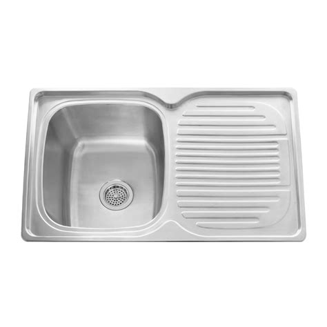 stainless steel sink with drainboard 32 quot infinite rectangular drop in stainless steel prep sink