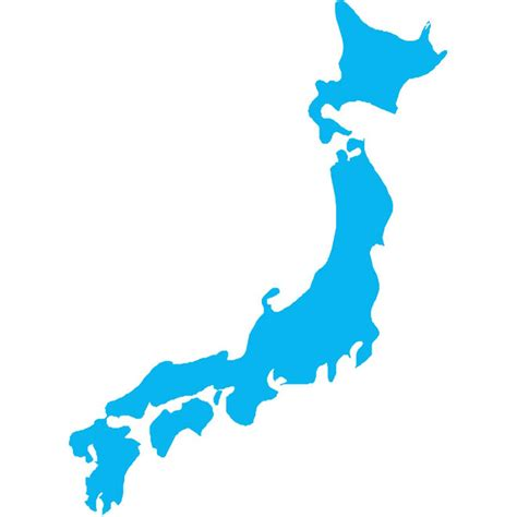Free Asia Outline Map Vector by Vector Map Of Japan At Vectorportal