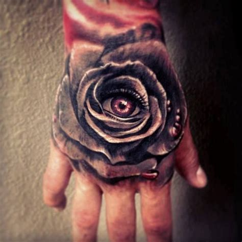 eye rose tattoo 20 tattoos on for