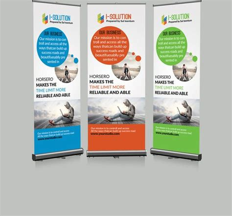 Templates For Retractable Banners | 312 best banner stand inspiration images on pinterest