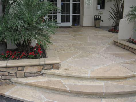 concrete front entries resurfacing refinishing repair