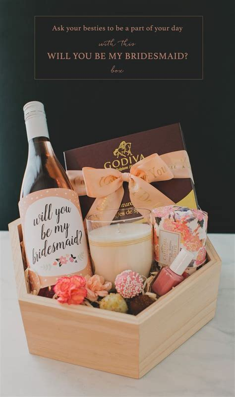 Will You Be My Bridesmaid Diy Box Ideas ? WeddCeremony.Com