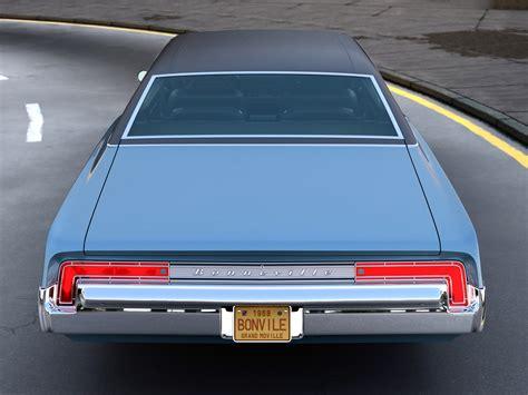 pontiac 1968 models pontiac bonneville 2 door 1968 3d model vehicles 3d models