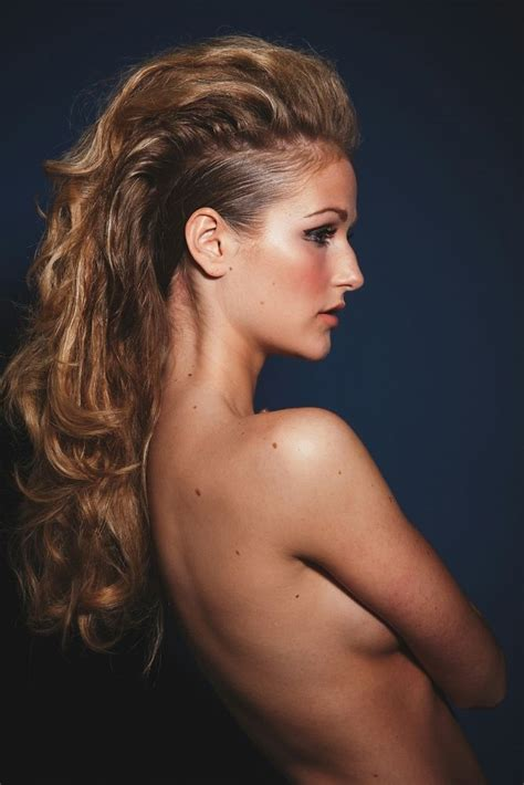mohawk hairstyles ll eaving hair long at back of head 25 best ideas about long hair mohawk on pinterest