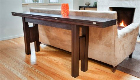 dining table that folds into cabinet
