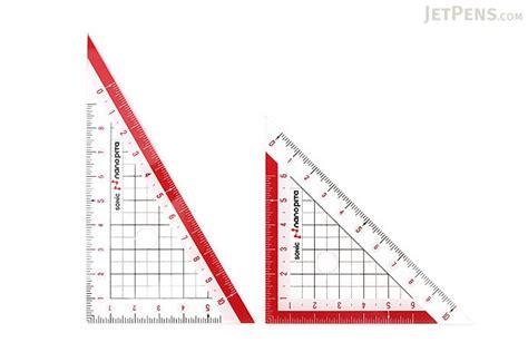 Pita Satin 2 Cm 3 4 Inch sonic nano pita non slip reversible triangle rulers 10 cm jetpens