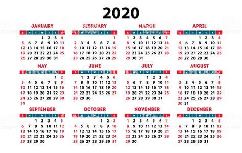 calendar  week starts  sunday simple ready design template immagini vettoriali stock