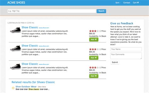 Free Finder With Free Results Simple Search Results Page Bootstrap Responsive Themes
