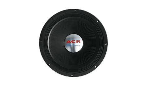 Speaker Acr Black Spider 18 15 1590 acr black magic acr speaker