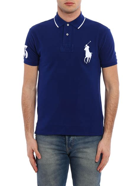 Polo Shirtkaos Kerahkaos Polo Ralph Laurent maxi logo embroidery polo shirt by polo ralph polo shirts ikrix