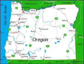 oregon united states map complete map of oregon oregon state beekeepers