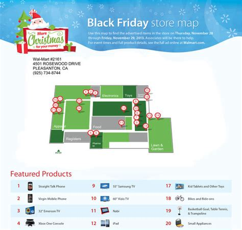 walmart map walmart black friday maps