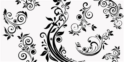 floral pattern brush photoshop high quality photoshop floral brushes