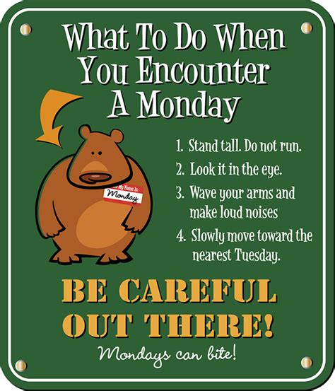 More On Monday The And Times Of The Thunderbolt Kid By Bill Bryson by What To Do When You Encounter A Monday Monday Humor