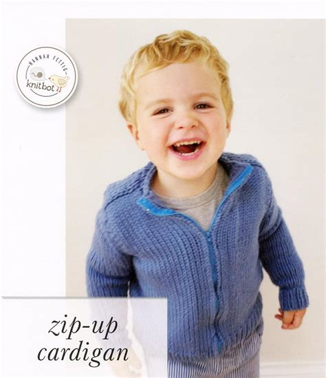 knitting pattern zippered cardigan knitbot zip up cardigan child adult sizes knitting
