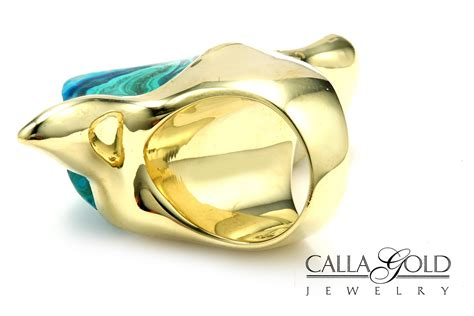 Chalcedony Motif Big metalsmiths unite the calla gold yes that s