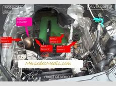How to find the location of O2 Oxygen Sensor in a Mercedes ... B 200 Mercedes 2011