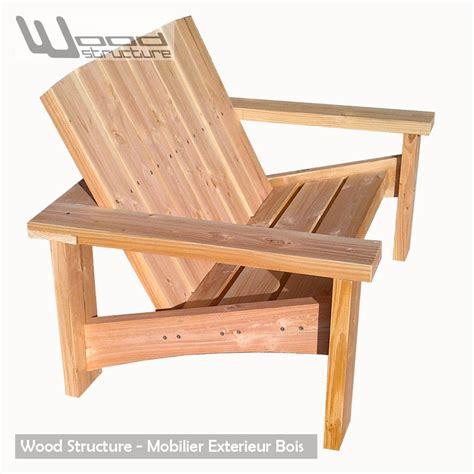 banc en bois banc douglas banc de jardin wood structure