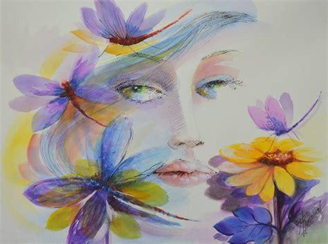 imagenes abstractas modernas cuadros con flores modernos pinturas modernas picture