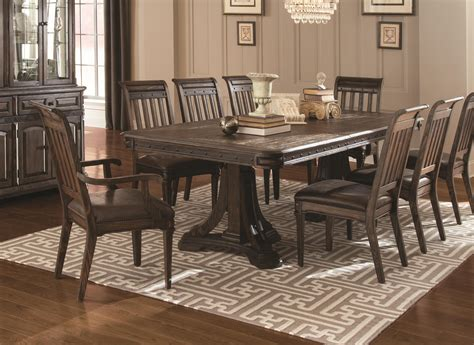 9 pc dining room sets buy 9 piece carlsbad formal dining room set by coaster
