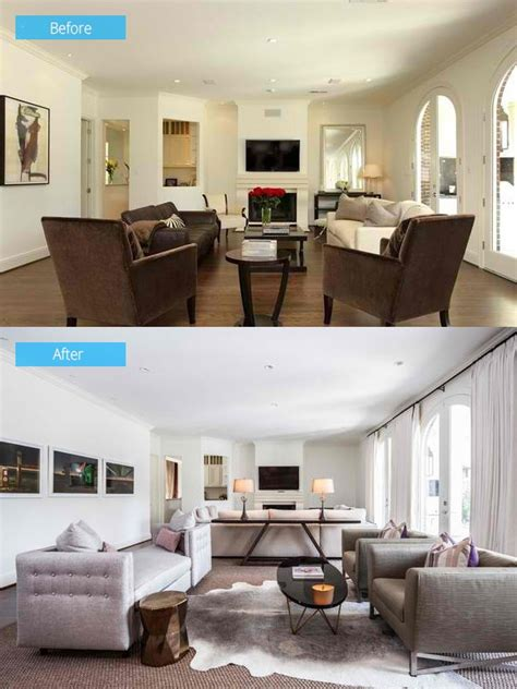 home design before and after 15 impressive before and after photos of living room remodels home design lover