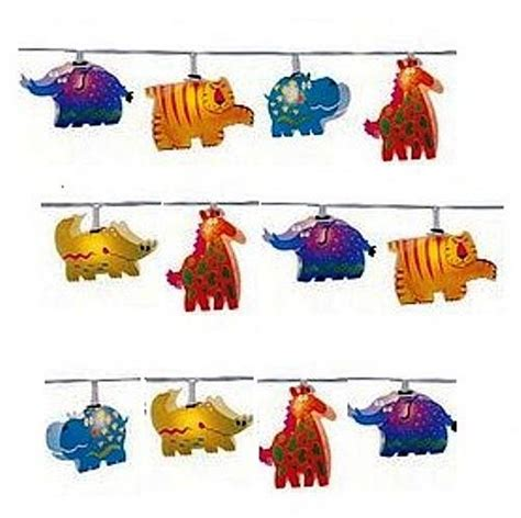 String Animals - child s jungle animals string lights by and