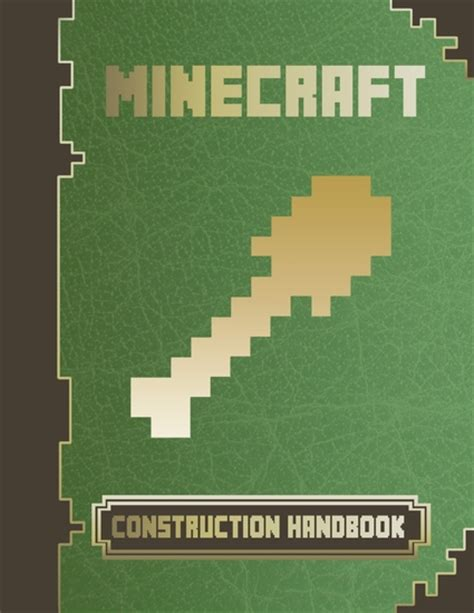 How To Make A Book Cover With Construction Paper - minecraft construction handbook read book
