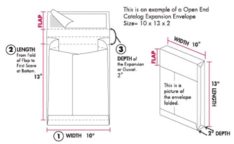 Large Standard L by Measuring An Envelope Envelope Measurements Dimensions