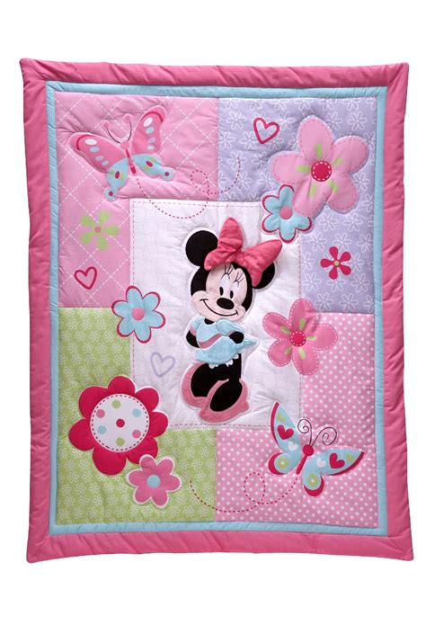 Minnie Mouse Crib Blanket disney baby minnie mouse crib sheet baby baby bedding