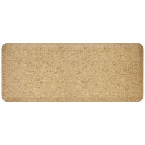 newlife comfort mat newlife designer pebble wheat 20 in x 48 in anti fatigue