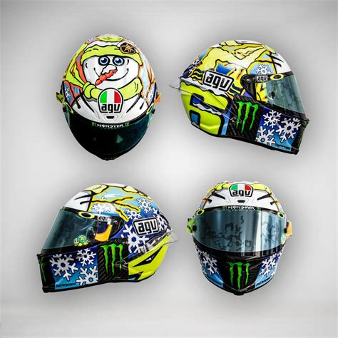 rossi helmet design 2016 rossi and iannone show off new helmets stoner rides at