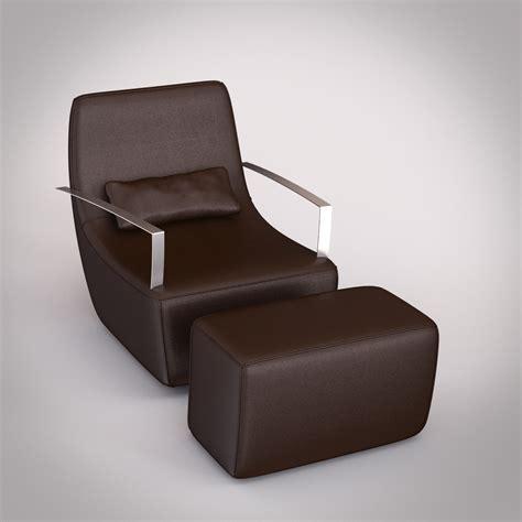 ligne roset armchair ligne roset poltrone neo armchair 3d models cgtrader com