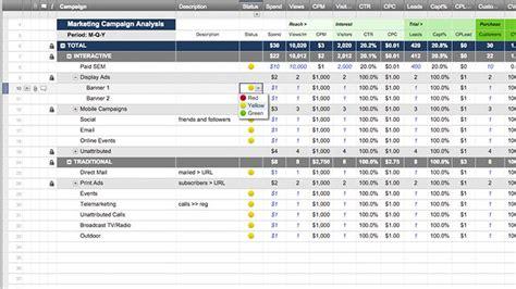 Smartsheet Smartsheet Project Management Template