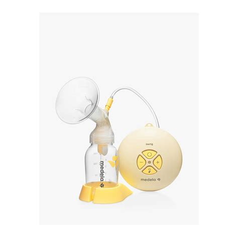medela swing electric breastpump with calma medela swing breast with calma teat at lewis