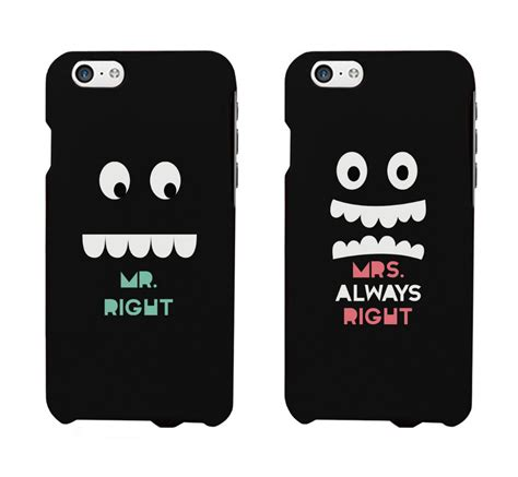 Iphone For Couples Aliexpress Buy Design Mr And Mrs Right Matching