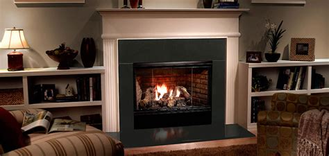 majestic reveal b vent gas fireplace 42 quot rbv4842it open