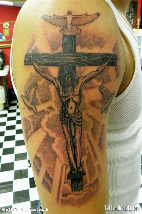 jesus crucifixion tattoo 47 best crucifixion of jesus tattoos images on
