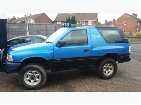 opel frontera lifted vauxhall frontera 2 0 sport swb lifted tipton sandwell