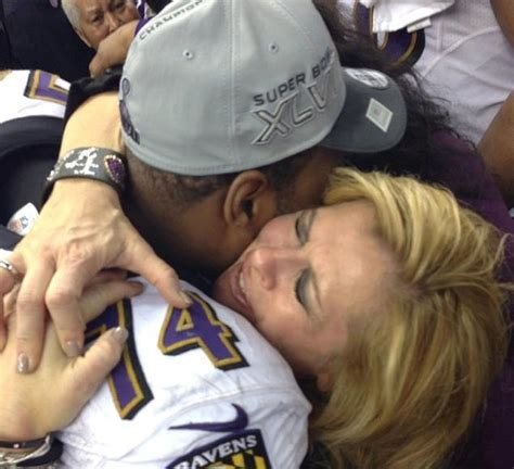 Blind Side Football Player Baltimore Ravens Mom Of Blind Side Subject Oher Thrilled For Champion Son