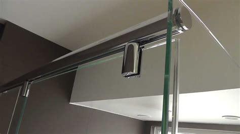 l shaped shower door l shape hydroslide crl frameless shower door