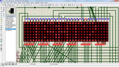 How To Build A Led L by How To Make Scrolling Led Display Using 8051 Microcontr