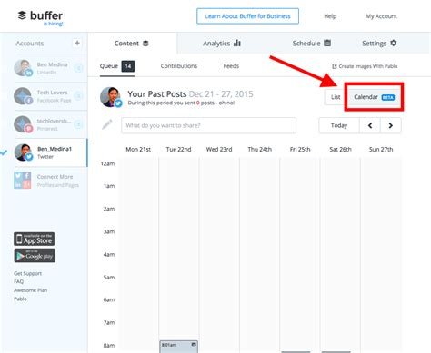 How To Access Calendar How To Tweet Your Curated