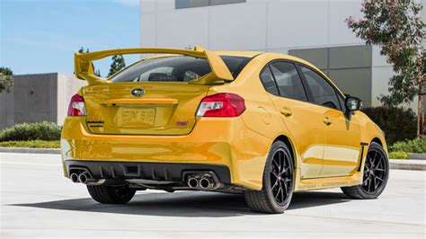 yellow subaru wrx 5 colors subaru should add to the 2017 wrx and sti autos