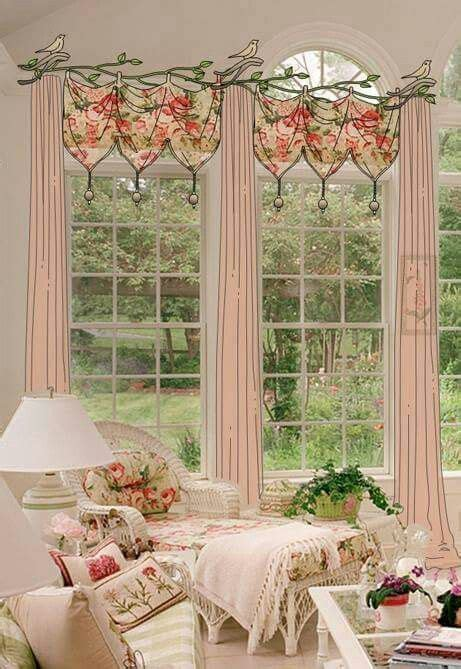 cottage style drapes isn t it s beautiful and shabby adding this style to your