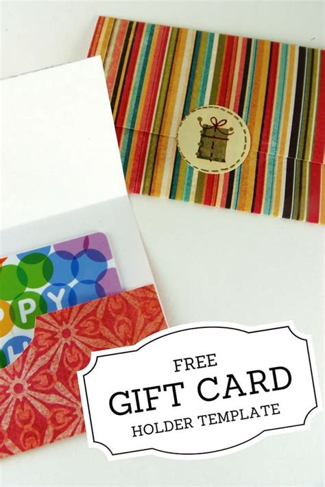 gift card holder template free gift card holders printable gift cards and gift cards on